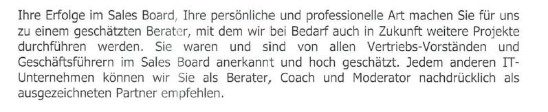 Referenzen Axel Rittershaus