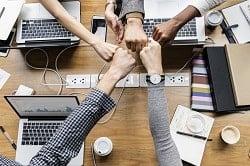Technologie ist ein Mitarbeiter-Thema