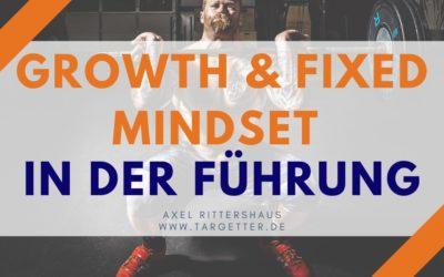 Fixed und Growth Mindset in der Führung – Definition und Beispiele