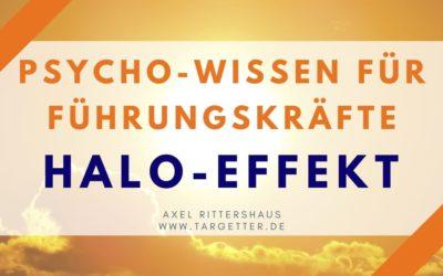 HALO-Effekt – Psycho-Wissen für Führungskräfte