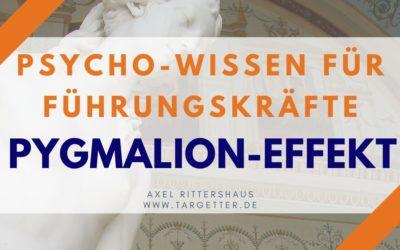 Pygmalion-Effekt in der Führung – Psycho-Wissen für Führungskräfte